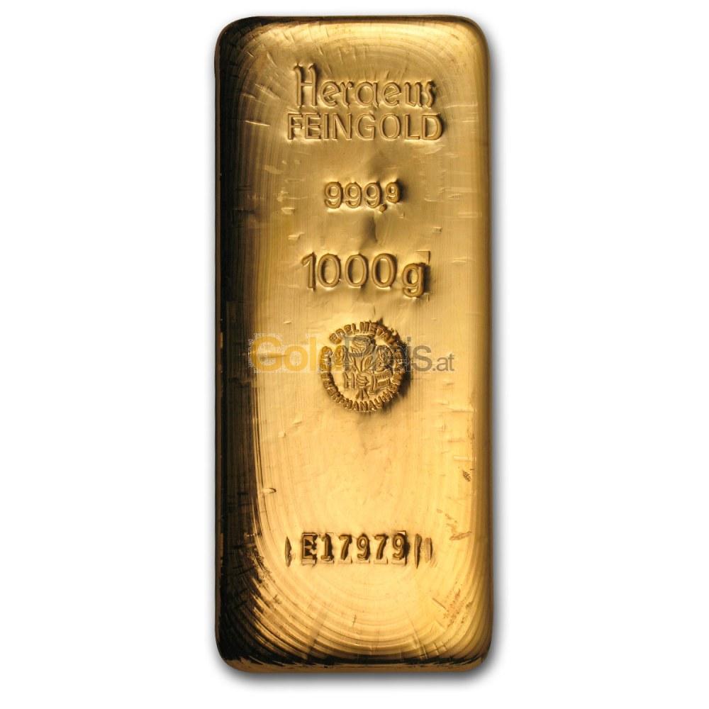 Goldbarren Preisvergleich 1 Kilogramm Gold Kaufen