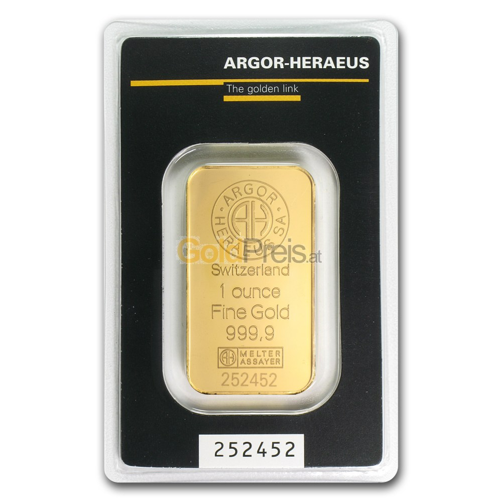 1 Unze Gold Kaufen Gold Preisvergleich Goldbarren
