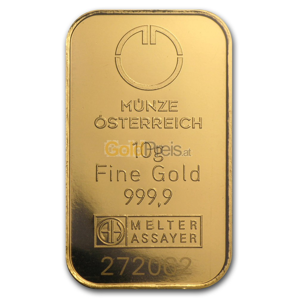 goldkurs österreich aktuell