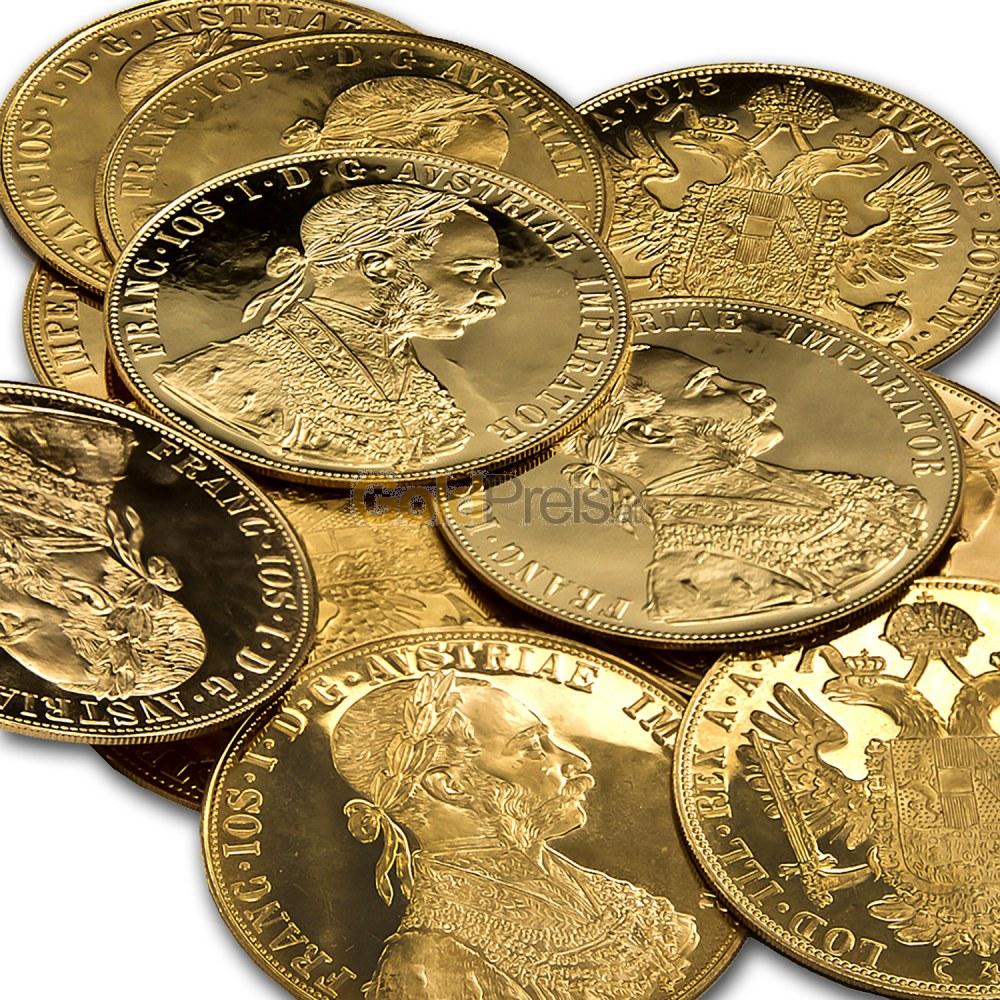 Dukaten Goldmünze Gold Dukaten Günstig Online Kaufen Bei Goldpreisat