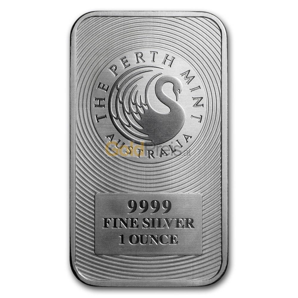 Silberbarren Preisvergleich 1 Unze Silber Kaufen