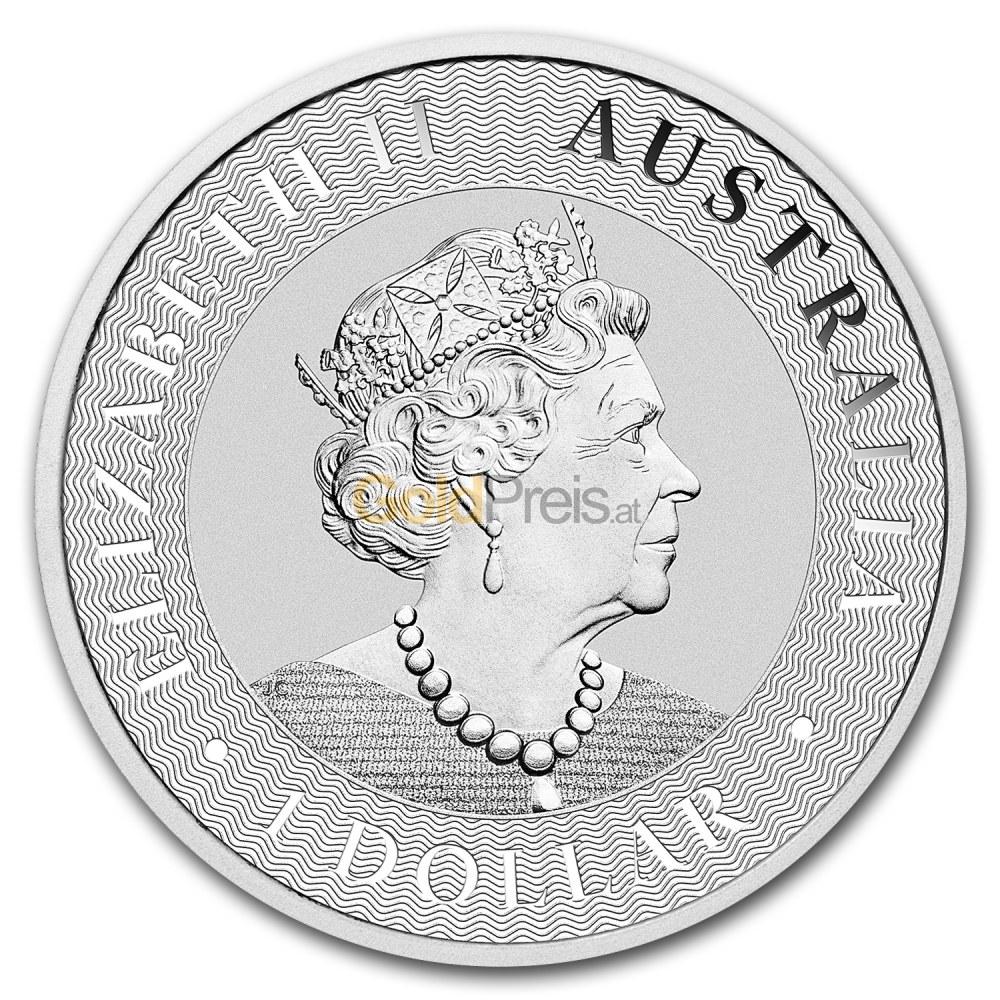 Queen-Portrait auf der Australian Kangaroo ab 2019