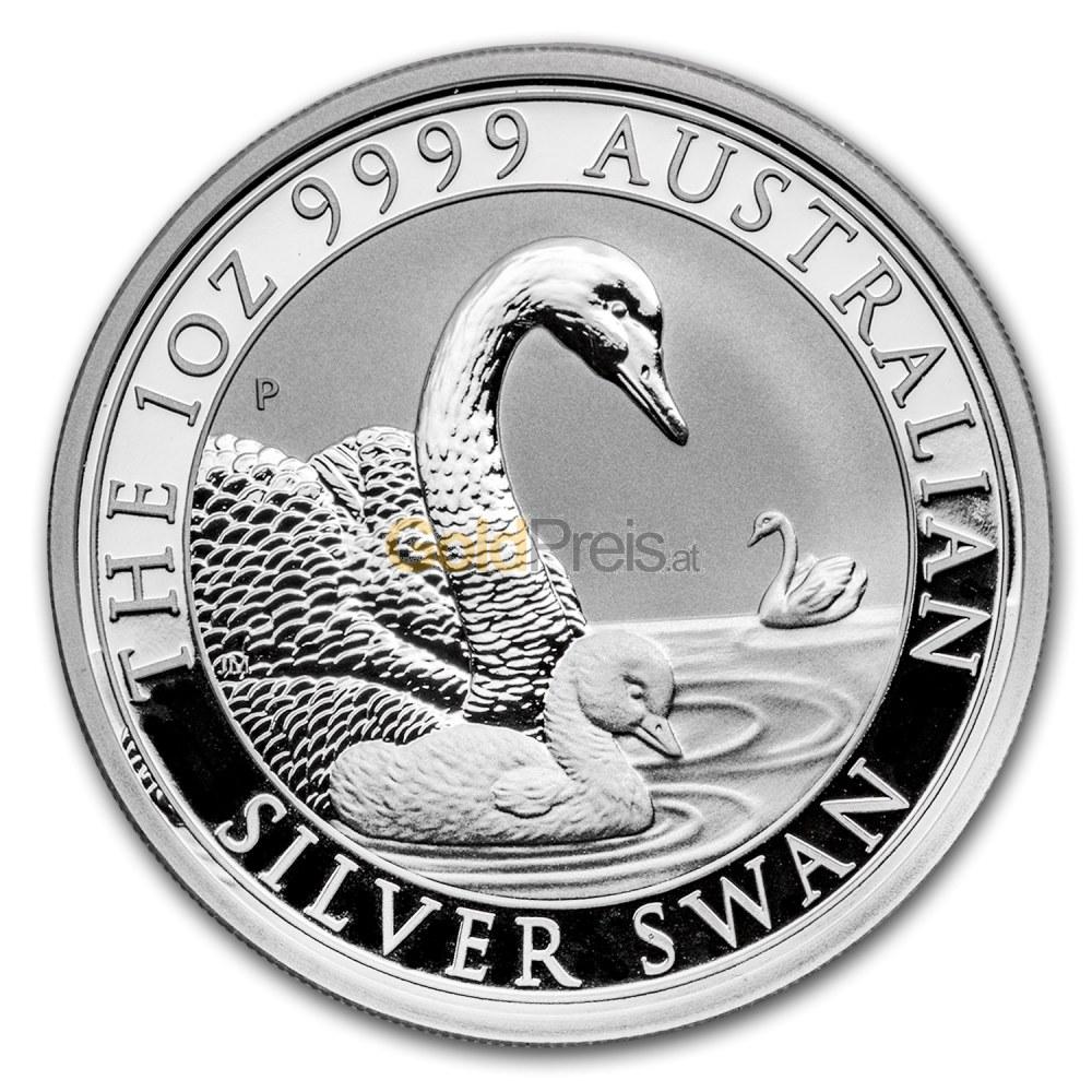 Schwan Silber Preisvergleich Silberm 252 Nzen G 252 Nstig Kaufen