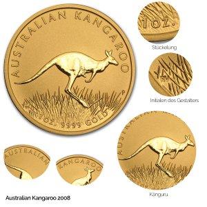 Australian Kangaroo Gold 2008