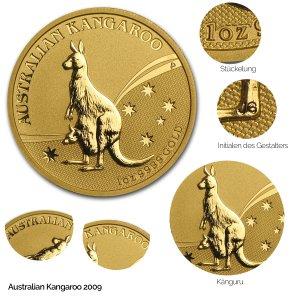 Australian Kangaroo Gold 2009