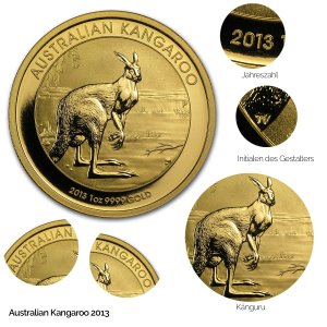 Australian Kangaroo Gold 2013
