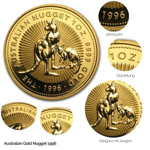 Australian Nugget Gold 1996
