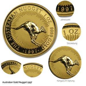 Australian Nugget Gold 1997