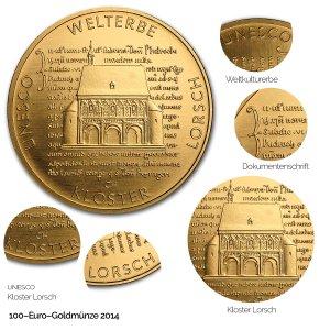 2014 UNESCO Welterbe – Kloster Lorsch - Revers