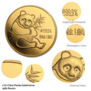 China Panda Gold 1982