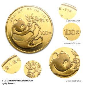 China Panda Gold 1984
