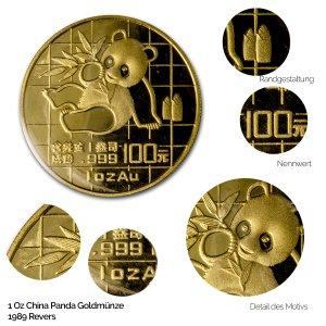 China Panda Gold 1989
