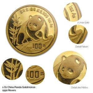 China Panda Gold 1990
