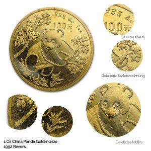 China Panda Gold 1992