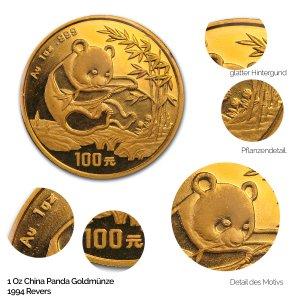 China Panda Gold 1994