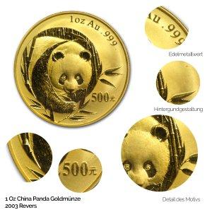 China Panda Gold 2003