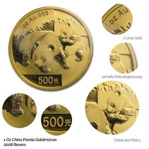 China Panda Gold 2008