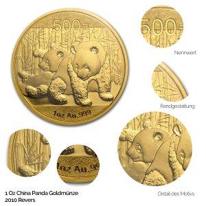 China Panda Gold 2010