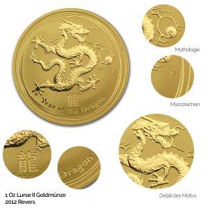 Lunar 2012 Jahr des Drachen