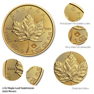 Maple Leaf Gold Revers 2020