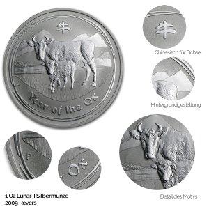 Lunar 2009 Jahr des Ochsen