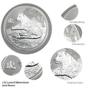Lunar 2010 Jahr des Tigers