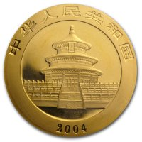 China Panda Gold Avers 2004