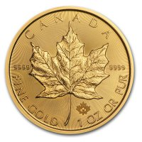 Maple Leaf Gold Revers 2015