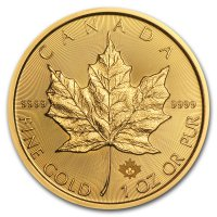 1 Unze Maple Leaf