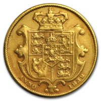 Gold Sovereign von 1832 - William IV - Revers