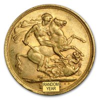 Gold Sovereign von 1893-1901 - Victoria Old Head - Revers