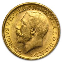 Gold Sovereign von 1911-1925 - Georg V - Avers