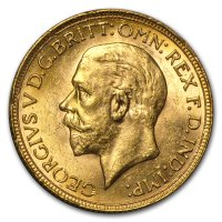 Gold Sovereign von 1925-1932 - Georg V - Avers