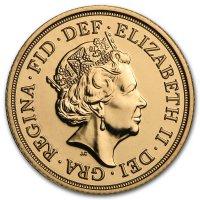 Avers von 2016: Queen Elizabeth II. von Jody Clark gestaltet
